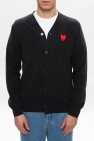 Comme des Garcons Play Cardigan with logo
