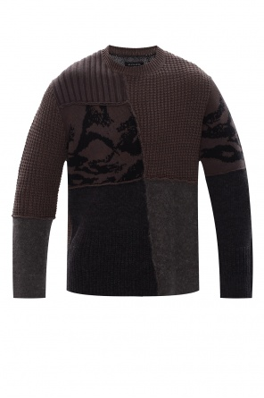 'patch' sweater od AllSaints
