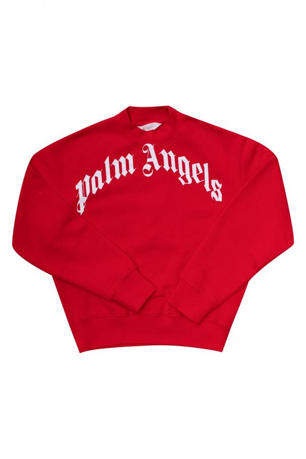 Palm Angels Kids Sweatshirt with logo