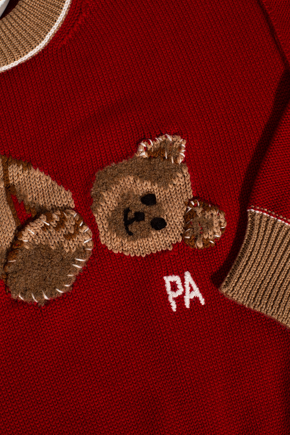 Palm Angels Kids Sweater with logo