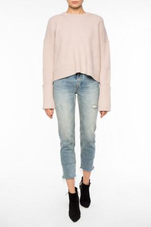 Cropped oversize sweater od Allsaints