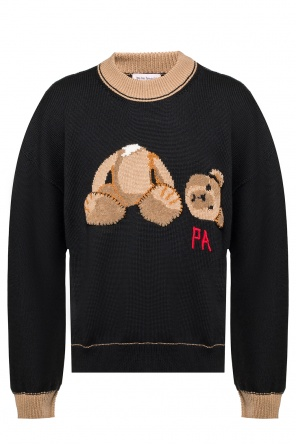Teddy bear wool sweater od Palm Angels