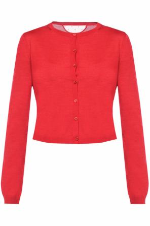 Cashmere-blend cardigan od Valentino Red