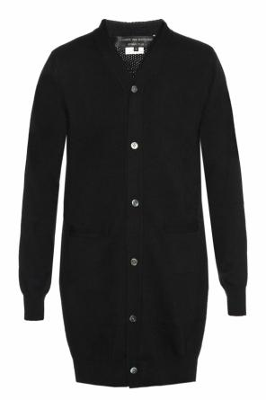 Long two-layered cardigan od Comme des Garcons Homme Plus