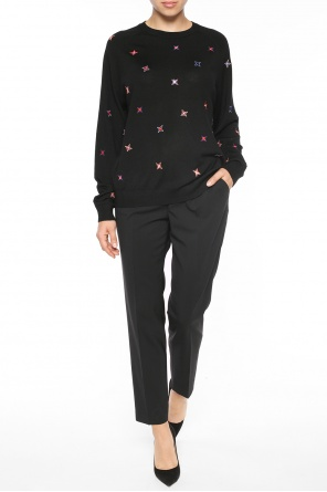 Star motif sweater od Paul Smith