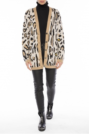 Leopard print cardigan od Paul Smith