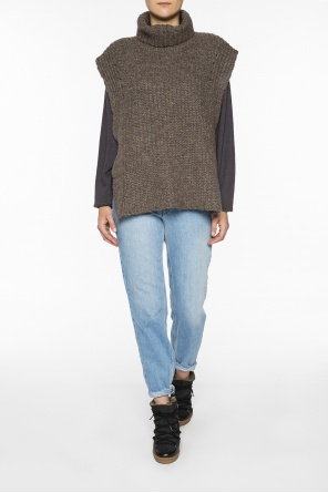 Sleeveless turtleneck sweater od Isabel Marant Etoile