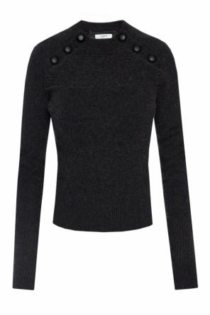 Sweater with ribbed inserts od Isabel Marant Etoile