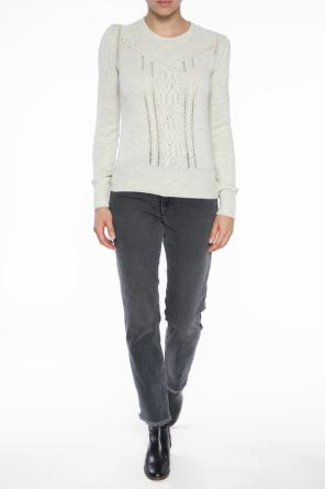 Sweater with braided inserts od Isabel Marant