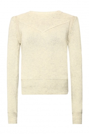 Padded shoulder sweater od Isabel Marant Etoile