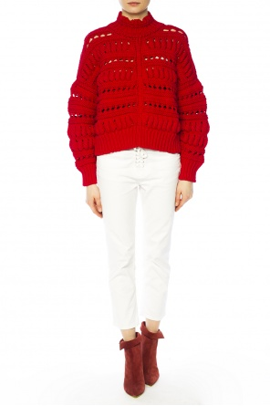Elasticated braided sweater od Isabel Marant
