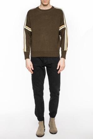 Sweater with stitched stripes od Isabel Marant