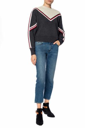 Sweater with sewn on stripes od Isabel Marant Etoile