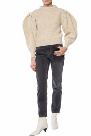 'brettany' puff sleeve sweater od Isabel Marant