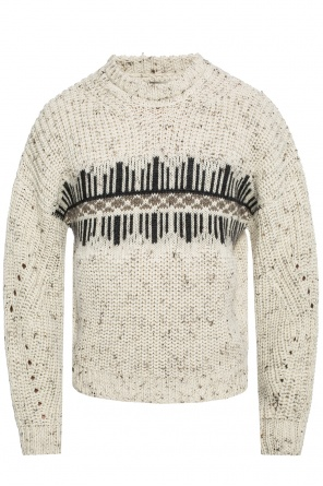 'deacon' braided sweater od Isabel Marant