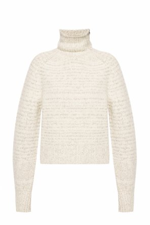 Striped turtleneck sweater od Isabel Marant