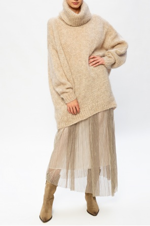 Oversize roll neck sweater od Isabel Marant