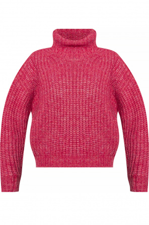 Rib-knit turtleneck sweater od Isabel Marant