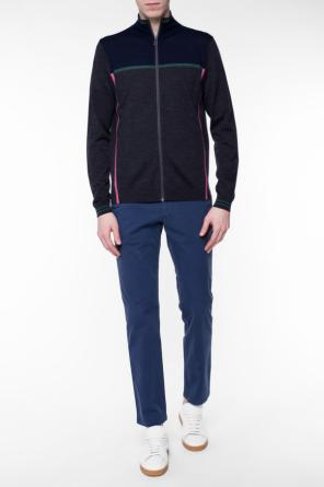 Band collar cardigan od Paul Smith