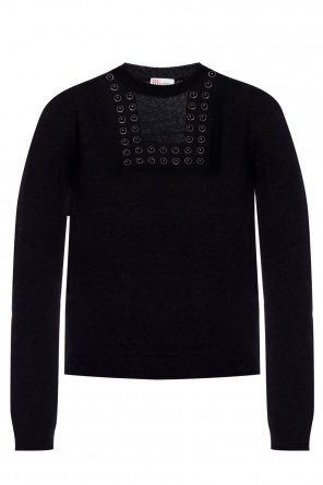 Embellished sweater od Valentino Red