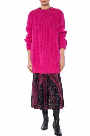 Braided sweater od Valentino Red