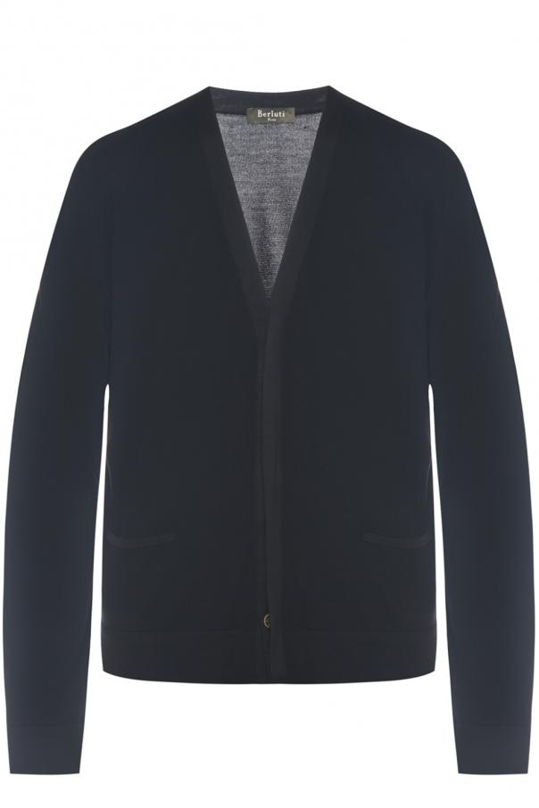 Berluti Wool And Silk Cardigan