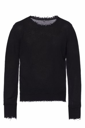 Raw-trimmed sweater od R13