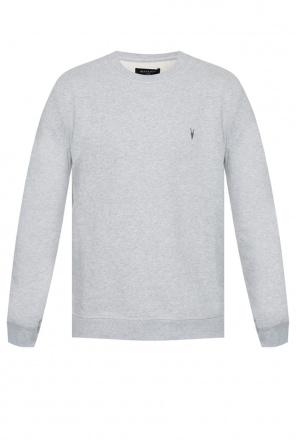 'raven' sweatshirt with logo od AllSaints