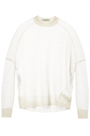 'rizo' open-knit woven sweater od AllSaints