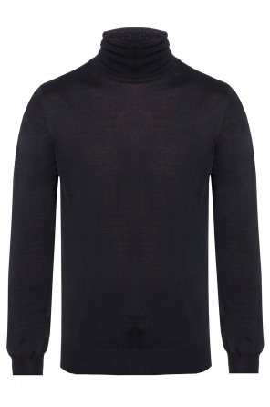 Striped turtleneck sweater od Lanvin
