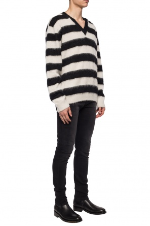 Stripe-rib knit sweater od Lanvin