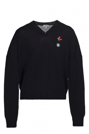 Patched sweater od Lanvin