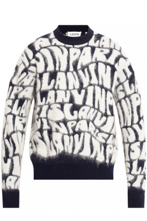 Sweater with logo od Lanvin