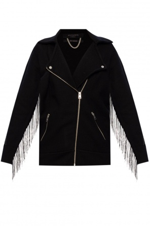 'robyn' cardigan with fringes od AllSaints