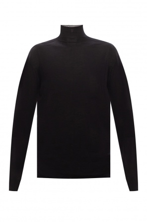 Wool turtleneck sweater od Rick Owens