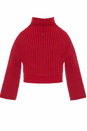 Braided turtleneck sweater od Lanvin