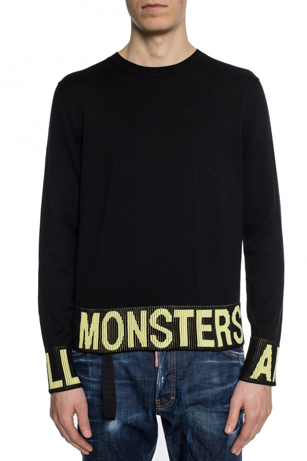 Embroidered sweater od Just Cavalli