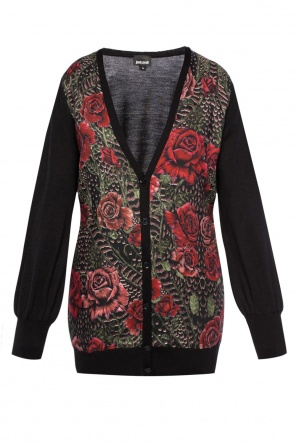Rose motif cardigan od Just Cavalli