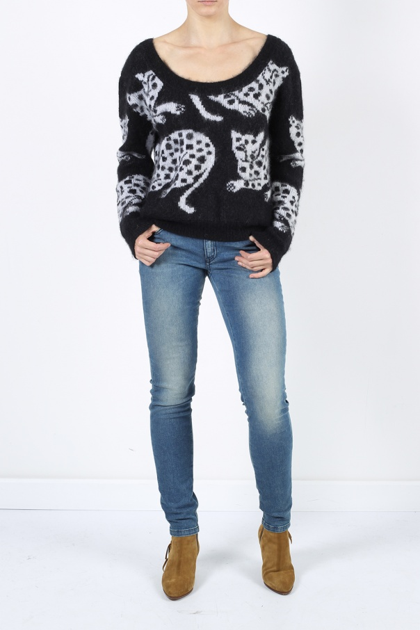 Moherowy sweter od Just Cavalli