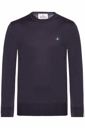 Logo-embroidered sweater od Vivienne Westwood
