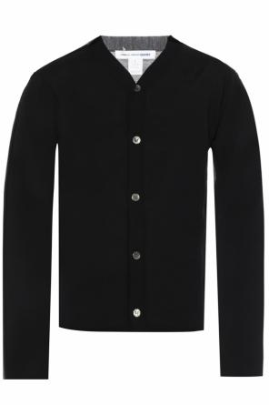 Two-coloured cardigan od Comme des Garcons