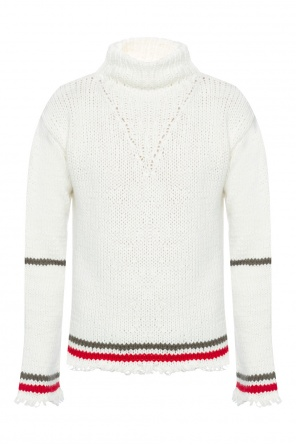 Embellished turtleneck sweater od Maison Margiela