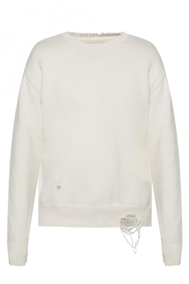 Sweater with holes od Maison Margiela