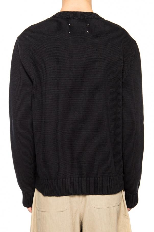Sweater with logo od Maison Margiela