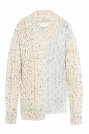 Oversize braided sweater od Maison Margiela