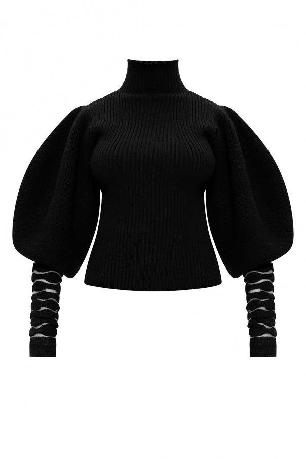 Loewe Rib-knit turtleneck sweater