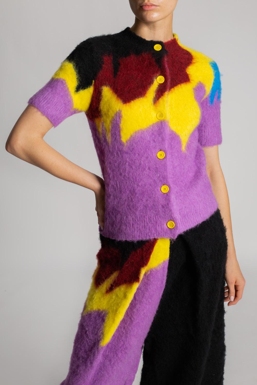 Loewe Short-sleeved cardigan