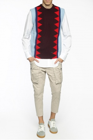 Braided vest od Dsquared2