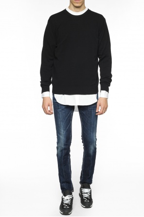 Sweater with t-shirt od Dsquared2