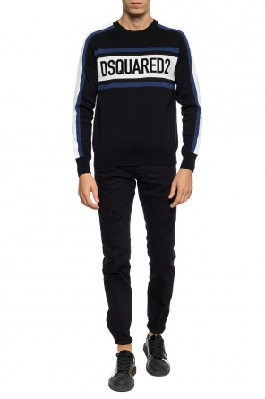 Sweater with an embroidered logo od Dsquared2